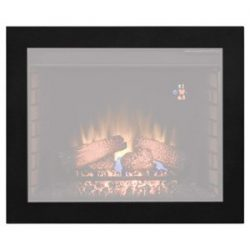 ClassicFlame BBKIT-28 28″ Flush-Mount Trim Kit for use with In-Wall Electric Fireplace Insert