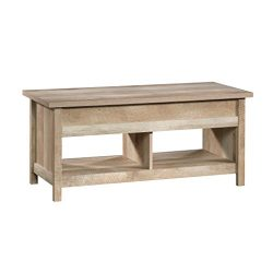 Sauder 420336 Cannery Bridge Lift Top Coffee Table, L: 43.15″ x W: 19.45″ x H: 19.02 ...