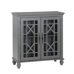 Lexicon D'aramitz Accent Cabinet, Gray