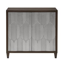 Madison Park MP130-0657 Leah Storage Cabinet – Modern Transitional Luxe Double Door Design ...