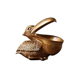 Labyrinen Home Office Table Key Storage Box Toucan Ornaments, Living Room Study Decoration Ornam ...