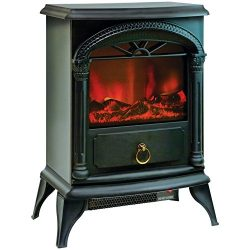 "COMFORT ZONE CZFP4 21.5″"" Fireplace Electric Stove Home, garden & living"