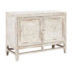 Ashley Furniture Signature Design – Fossil Ridge 2-Door Accent Cabinet – Contemporar ...