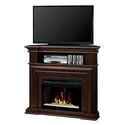 DIMPLEX Electric Fireplace, TV Stand, Media Console, Space Heater and Entertainment Center with  ...