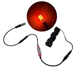 fire effect ember orange flame simulation LED light kit with flicker effects control for props t ...
