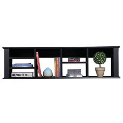 Yaheetech Wall Mounted TV Media Console – for Living Room Office Floating Hutch Storage Ca ...