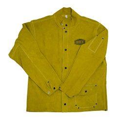 West Chester IRONCAT 7005 Heat Resistant Split Cowhide Leather Welding Jacket, Large