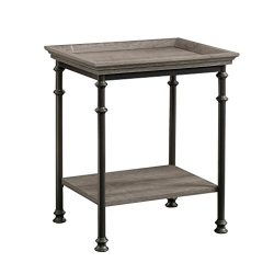 Sauder 419229 Canal Street Side Table, L: 21.50″ x W: 17.48″ x H: 24.49″, Nort ...