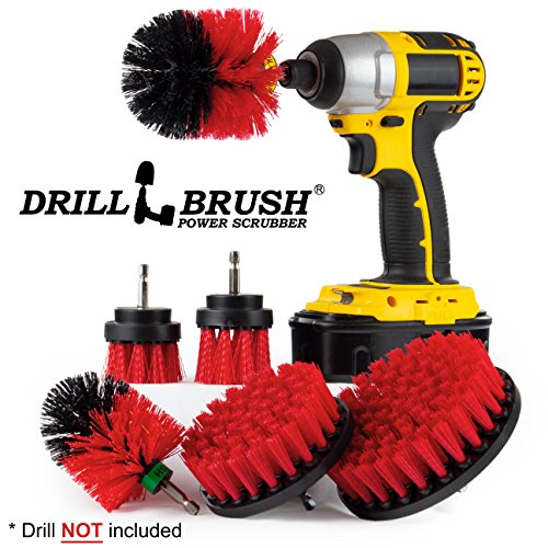 Cleaning Supplies – Drill Brush – The Ultimate Stiff Bristle Cleaning Attachment Kit ...