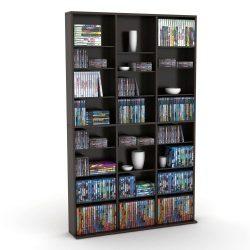 Atlantic 38435683 Oskar 756 Media Storage Cabinet (Espresso) (Discontinued by Manufacturer)