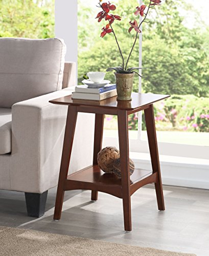 Convenience Concepts 501145ES Alpine End Table, Espresso