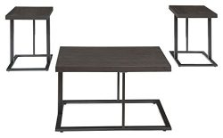 Ashley Furniture Signature Design – Airdon Contemporary 3-Piece Table Set – Includes ...