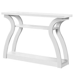 Monarch Specialties I 2438 Console Table White