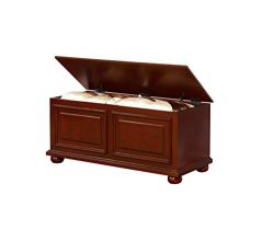 Powell's Furniture 15A7025 Chadwick Cedar Chest, Cherry,