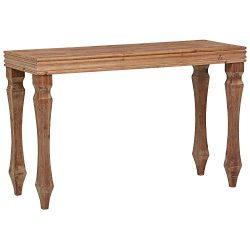 Stone & Beam Casual Narrow Console Table 47.83″W, Natural