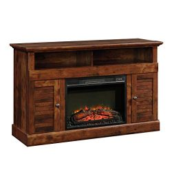Sauder 422993 Harbor View Media Fireplace Entertainment Center, Accommodates up to a 60″ T ...