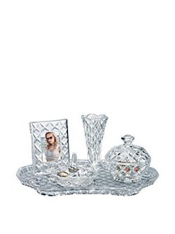Shannon Crystal Vanity Set by Godinger