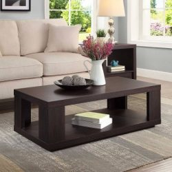 Better Homes and Garden Steele Coffee Table, Espresso Finish (Espresso Finish)