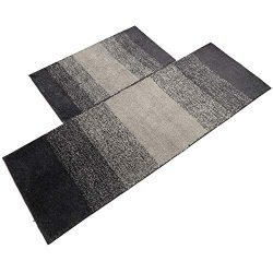 U'Artlines Kitchen Mat, Decorative Non-Slip Microfiber Doormat Bathroom Mats Shower Rugs f ...