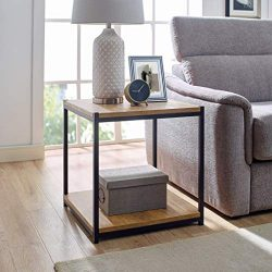 Tall Side End Table by Aaron Furniture Designs |Brooklyn Series | Night Stand | Coffee Table |St ...