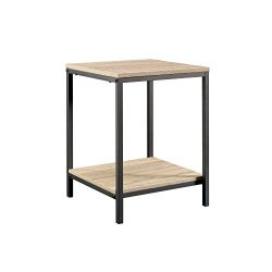 Sauder 420274 North Avenue Side table, L: 15.51″ x W: 15.51″ x H: 20.00″, Char ...