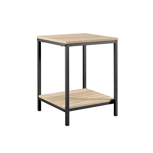 Sauder 420274 North Avenue Side table, L: 15.51″ x W: 15.51″ x H: 20.00″, Char ...