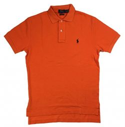 Polo Ralph Lauren Classic Fit Mesh Polo, Basketball Orange, X-Large