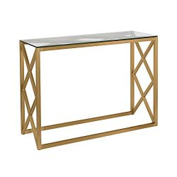 Henn&Hart AT0114 Console Table, 1, Gold