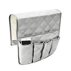 Waterproof Sofa Couch Chair Armrest Organizer Sofa Arm Caddy Tray Tidy Hanging Storage Bag Table ...
