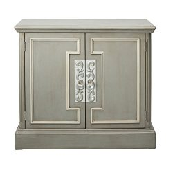 Pulaski DS-D115005 Two Door Framed Chest Accent Cabinet London Grey