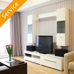 TV Stand or Media Storage Assembly – TV Stand