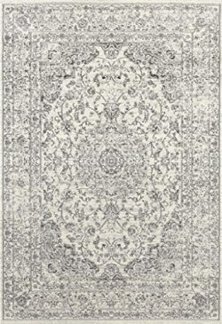 3212 Distressed Silver 7'10×10'6 Area Rug Carpet Large New