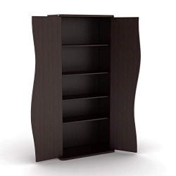 Atlantic Venus Media Storage Cabinet – Stylish Multimedia Storage Cabinet Holds 198 CDs, 8 ...