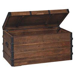 Ashley Furniture Signature Design – Kettleby Storage Trunk – Brown