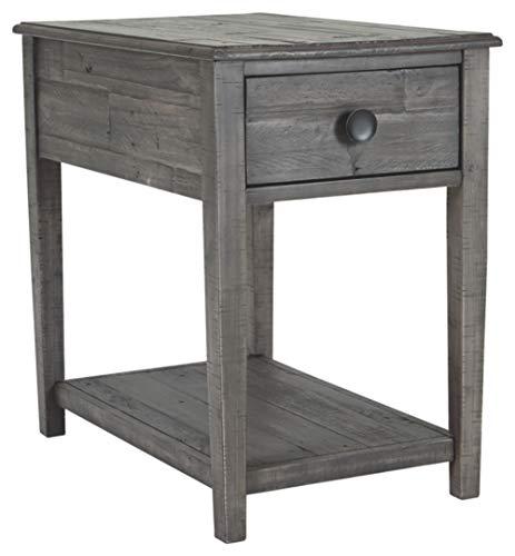 Signature Design by Ashley T831-3 Borlofield Rectangular End Table, Dark Gray