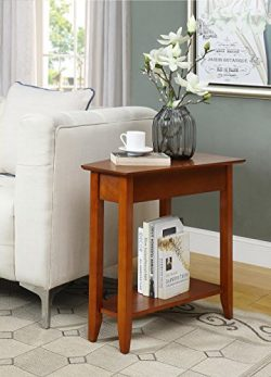 Convenience Concepts 7105060CH American Heritage Wedge End Table, Cherry