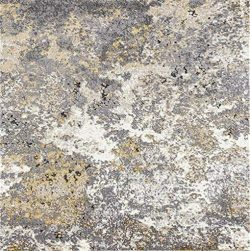 Persian-Rugs 6490 Gray Abstract 5 x 7 Area Rug Carpet Large New