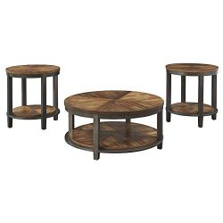 Signature Design by Ashley Roybeck Occasional Table Set, Brown