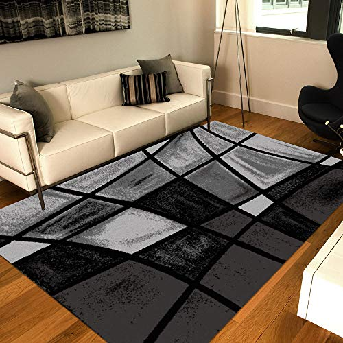 Msrugs Frize Collection Contemporary Area Rugs for Living Room 5×7 and 8×10 (5'x ...