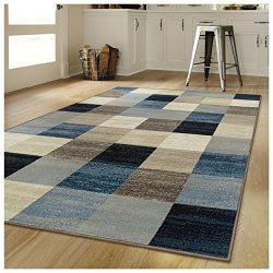 Superior's Rockaway Collection Area Rug, 10mm Pile Height with Jute Backing, Durable, Fash ...