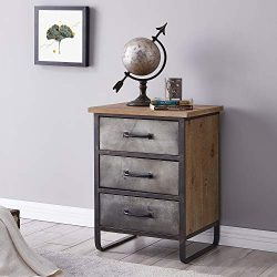 FirsTime & Co. Modern Farmhouse Accent Chest, 26″H x 19″W x 16.5″D, Antiqu ...