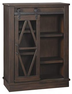 Ashley Furniture Signature Design – Bronfield Accent Cabinet – Brown