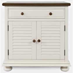 Jofran Accent Chest in Cottage White Two Tone