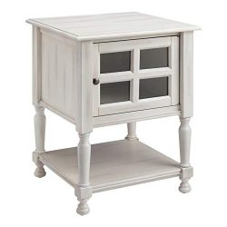 Ball & Cast HSA-5010 End Table, White
