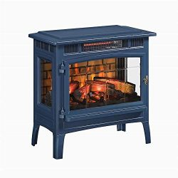 Duraflame 3D Infrared Electric Fireplace Stove with Remote Control – DFI-5010 (Navy)