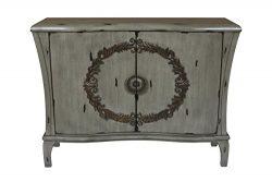 New Classic Furniture Diana 2 Door Chest, Gray