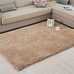 InterFashional Comfy Fluffy Soft Area Rugs for Living Room Bedroom Dining Room Silky Smooth Anti ...