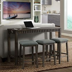 Picket House Furnishings Montego Multipurpose Bar Table Set