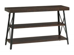 Martin Svensson Home Xavier Sofa Console Table, Sumatra