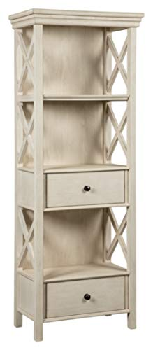 Signature Design By Ashley – Bolanburg Curio Cabinet – 2 Drawers and 3 Shelves ̵ ...